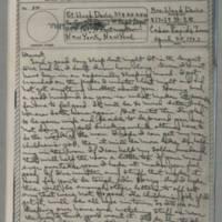 1943-04-28 Laura Davis to Lloyd Davis Page 1