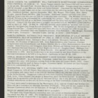 "1969-06-02 Newsletter: """"LULAC Glances"""" Page 2"