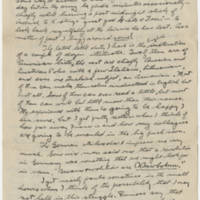 Robert Morriss Browning correspondence to Mabel C. Williams, January-March 1918