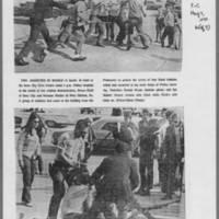 "1970-05-09 Iowa City Press-Citizen Article: """"Guard Called; Building Burns"""" Page 6"