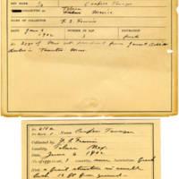 Thomas Wilmer Dewing, egg card # 494