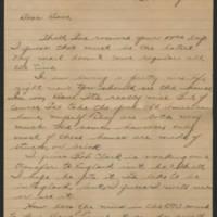 1945-04-26 Pfc. Roger K Banks to Dave Elder Page 1