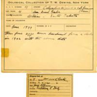 Thomas Wilmer Dewing, egg card # 005