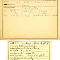 Thomas Wilmer Dewing, egg card # 375