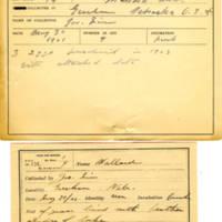 Thomas Wilmer Dewing, egg card # 093