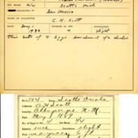 Thomas Wilmer Dewing, egg card # 711u