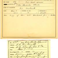 Thomas Wilmer Dewing, egg card # 455
