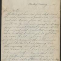 1917-09-28 Harvey Wertz to Mrs. L.A. Wertz Page 1