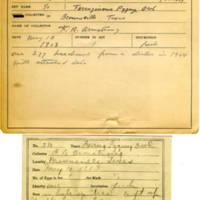 Thomas Wilmer Dewing, egg card # 265