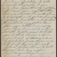 1917-10-08 Harvey Wertz to Mr. L.A. Wertz Page 2
