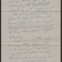 1945-04-22 Sgt. Gene Crossett to Dave Elder Page 1