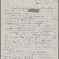1944-02-15 Helen Fox to Bess Peebles Fox Page 1