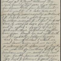 1917-10-01 Harvey Wertz to Miss Dorothy Wertz Page 2