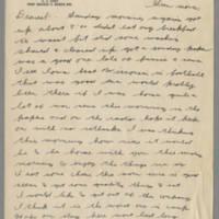 1942-11-09 Lloyd Davis to Laura Davis Page 1
