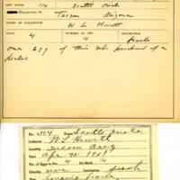 Thomas Wilmer Dewing, egg card # 710u
