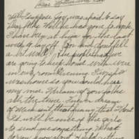 Undated letter (2) Page 1