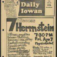 1972-01-07 'Discuss Herrnstein'