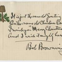 1915-12-22 Bob Browning to Karl Hoffman