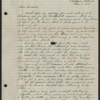 1945-03-11 Lt. Donald K. Longer to Dave Elder Page 1