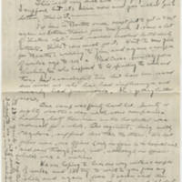 1918-10-21 Bob Browning to Karl Hoffman Page 3