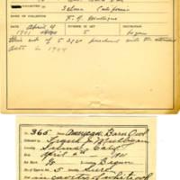 Thomas Wilmer Dewing, egg card # 244