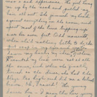1918-08-22 Daphne Reynolds to Conger Reynolds Page 2
