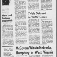 "1972-05-10 Iowa City Press-Citizen Article: """"Highway Patrolmen To Remain on Duty in Iowa City"""" Page 4"