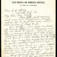 Mrs. M.C. Mackin to Mrs. C.C. Whitley