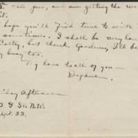 1917-12-30 Daphne Reynolds to Emily Reynolds Page 3
