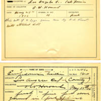 Thomas Wilmer Dewing, egg card # 365