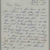 1945-11-27 Eddie Nardy to Dave Elder
