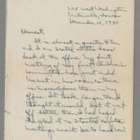 1941-12-10 Laura Davis to Lloyd Davis Page 1