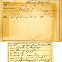 Thomas Wilmer Dewing, egg card # 826u