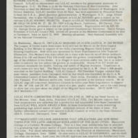 "1969-03-26 Newsletter: """"LULAC Glances"""" Page 2"