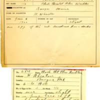 Thomas Wilmer Dewing, egg card # 525