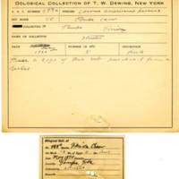 Thomas Wilmer Dewing, egg card # 394