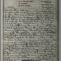 1943-06-17 Laura Davis to Lloyd Davis