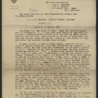LULAC state director reports and correspondence, 1969