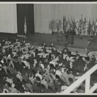 Photo inside Burlington Memorial Auditorium