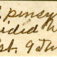 Clinton Mellen Jones, egg card # 384