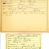 Thomas Wilmer Dewing, egg card # 806u