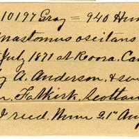 Clinton Mellen Jones, egg card # 158