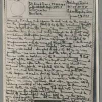 1943-06-28 Laura Davis to Lloyd Davis Page 1