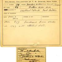 Thomas Wilmer Dewing, egg card # 118