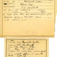 Thomas Wilmer Dewing, egg card # 271