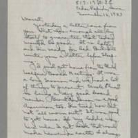 1943-11-16 Laura Davis to Lloyd Davis Page 1