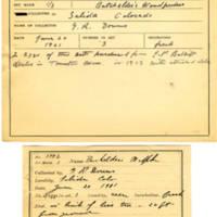 Thomas Wilmer Dewing, egg card # 282