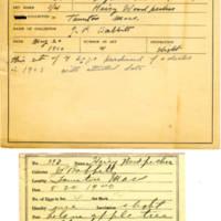 Thomas Wilmer Dewing, egg card # 277