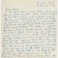 1946-10-14 Helen Fox Angell to Bessie Peebles Fox Page 1