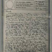 1943-04-30 Laura Davis to Lloyd Davis Page 1